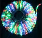 """[ОПТ] Уличная светодиодная гирлянда """"Дюралайт"""" с контроллером, 10 метров, мультиколор (3528), фото 2"""