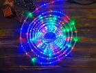 """[ОПТ] Уличная светодиодная гирлянда """"Дюралайт"""" с контроллером, 10 метров, мультиколор (3528), фото 4"""
