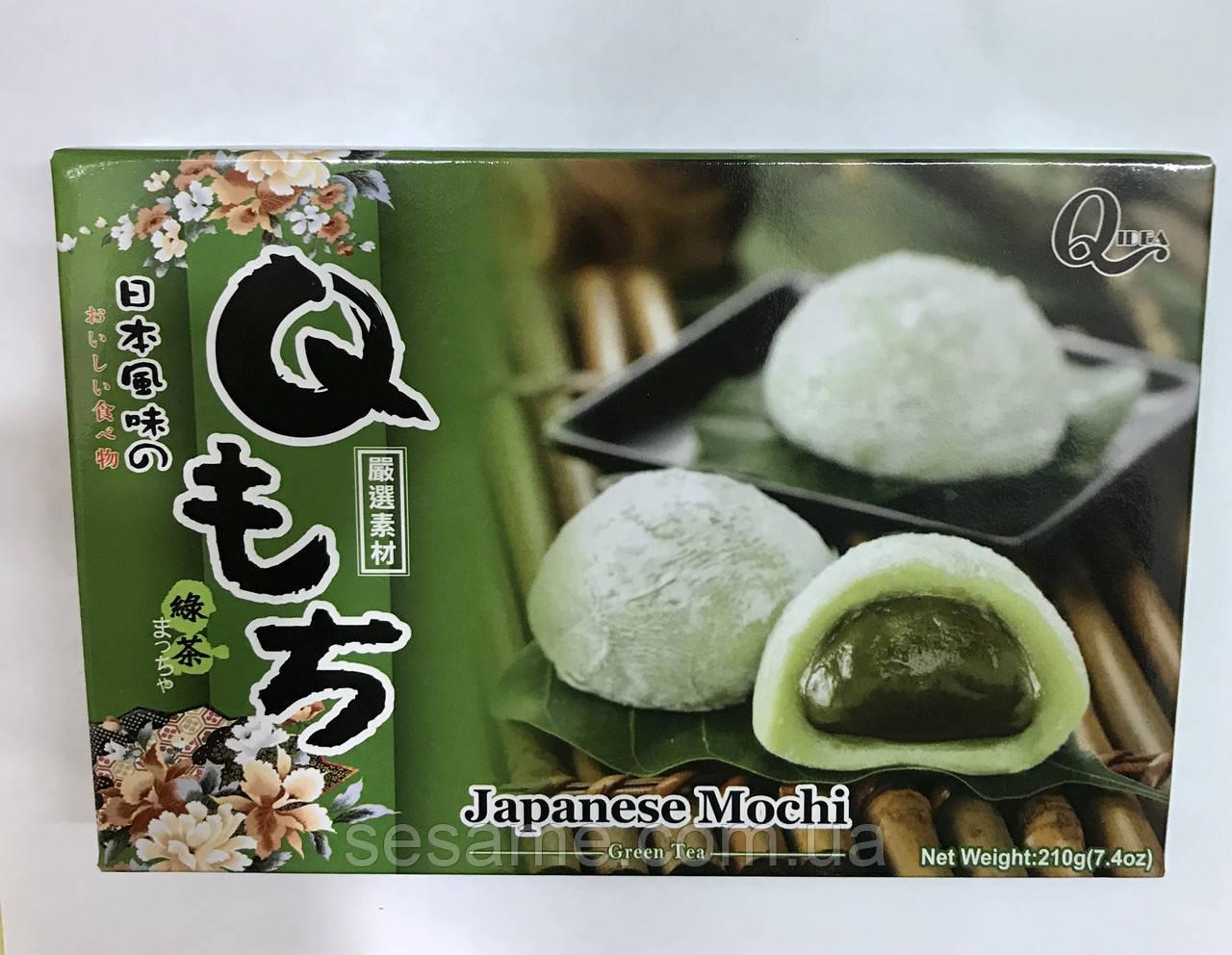 Японские конфеты Моти Green Tea Japanese Mochi 210грамм (Тайвань)