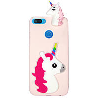 Чехол Cartoon 3D Case для Xiaomi Mi 8 Lite Единорог, фото 1