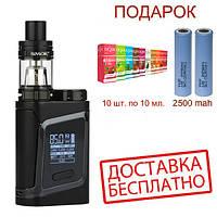 Электронная сигарета SMOK AL 85W. Вейп SMOK Alien Kit 85W.Бокс мод Элиан Кит 85 Вт черного  цвета.