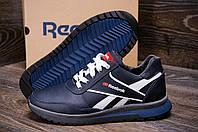 Мужские зимние кожаные кроссовки Anser Reebok NS blue реплика
