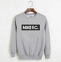"""Свитшот серый Nike ( Найк ) F.C. """""""" В стиле Nike """""""""""