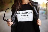 """Женская Футболка BALLINCIAGA Баленсиага   (  Черная ) """""""" В стиле Balenciaga """""""""""