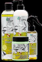 Flora Recipe Goji and Olive Комплексная программа для восстановления структуры волос