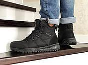 Тёплые мужские высокие ботинки из натурального нубука с 40 по 46 размер, фото 2