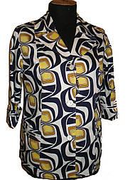 Женский пиджак с накладными карманами 70-3