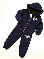 Детский теплый спортивный костюм для мальчика  размер 92 (на 2 года)