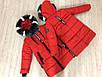 """Зимняя куртка для девочки """" SCHOOL"""", размеры на рост 128 - 146, фото 5"""