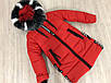 """Зимова куртка для дівчинки """"SCHOOL"""", розміри на ріст 128 - 146, фото 6"""