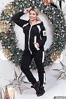Женский утепленный спортивный костюм / трехнитка с начесом / Украина 47-5252, фото 1