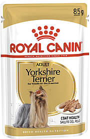 Влажный корм для собак Royal Canin Yorkshire Terrier Wet для йоркширских терьеров 85 г