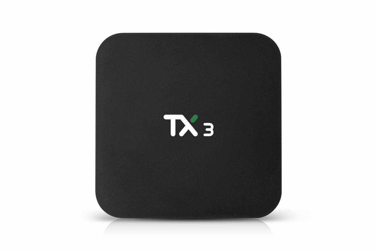 Tanix TX3 4/32, Amlogic S905X3, Android 9, Smart TV Box, Смарт ТВ Приставка