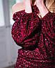 Платье вечернее бархатное из пайетке, фото 3