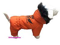 Зимовий комбінезон помаранчевий