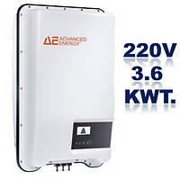 Однофазный стринговый инвертор, AE 1TL3,6.Мощность-3,6 кВт.