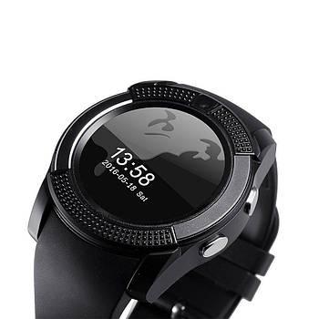 Смарт часы Smart Watch V8 цвета black, silver, blue, pink