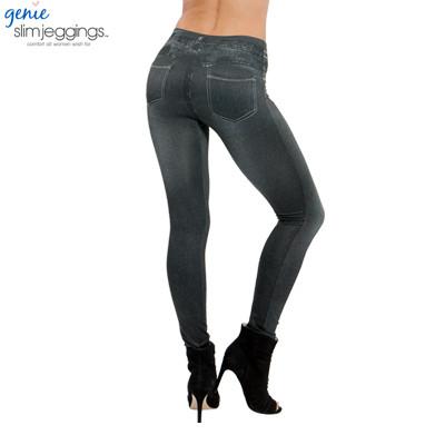 Женские леггинсы джинсовые