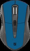 Мышь DEFENDER (52967)Accura MM-965 Wireless голубой, фото 1
