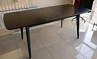 Стол кухонный Венге раскладной Модерн 150 см (190)х90 СО-293.4 Массив бука + МДФ