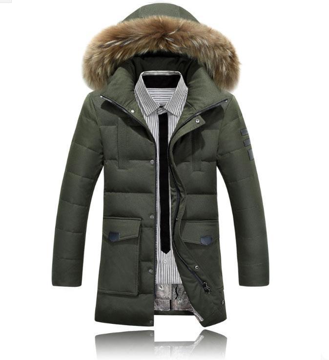 """Куртка-пуховик парка мужская зимняя """"AFS JEEP"""""""