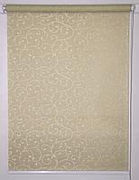 Готовые рулонные шторы 300*1500 Ткань Акант 1839 Какао