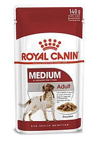 Вологий корм для собак Royal Canin Medium Adult для середніх порід 140 г