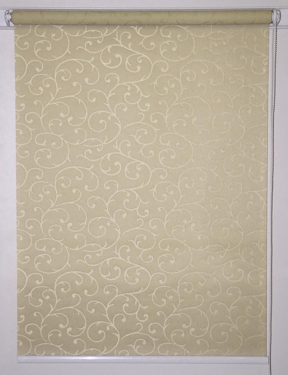 Рулонная штора 650*1500 Акант 1839 Какао