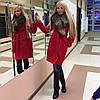 ЛК16 Женское пальто Вамп