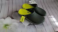 Кроксы летние Crocs LiteRide™ Clog серые 36 разм., фото 1