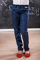 Классические брюки для девочку 509 Черные и Синие