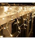 """[ОПТ]Вулична новорічна світлодіодна гірлянда Бахрома/Штора"""", 210LED, 5м*0.8 м, IP-44(теплий та холодний білий), фото 2"""
