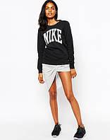 "Женский Свитшот Nike Найк Кофта ( Черный ) """" В стиле Nike """""