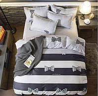 Півтораспальний постільний комплект - бант метелик