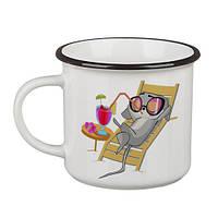 Стильная кружка Camper Перерва на каву та «помріяти»
