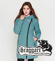 Braggart Youth | Зимняя куртка женская 25085 зеленая