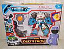 Трансформер Tobot 7 Міні Дельтатрон Mini Deltatron - висота 19 см, світло, звук, фото 2