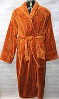 """Халат мужской махровый с поясом, размеры XL-3XL (цвета микс) """"ALMAZ"""" купить недорого от прямого поставщика"""