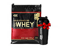 Протеин USA ORIGINAL!!! Optimum Nutrition Whey Gold Standard 4540 г Vanilla Ice Cream Ванильное Мороженое