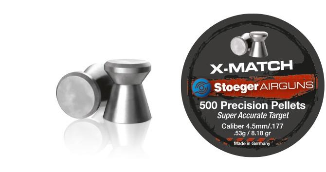 Кулі для пневматичної зброї Stoeger X-Match, 500 шт