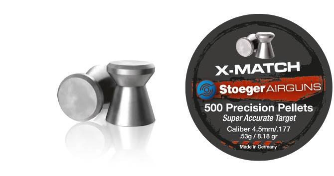 Кулі для пневматичної зброї Stoeger X-Match, 500 шт, фото 2