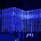 """[ОПТ] Вулична новорічна світлодіодна гірлянда """"Завісу"""", 210LED, 3м*1.5 м, IP-44, (синій, холодний білий), фото 5"""