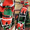 3 Деда Мороза на лестнице, по 35см., фото 4