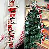 3 Деда Мороза на лестнице, по 35см., фото 7