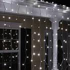 """[ОПТ] Уличная светодиодная новогодняя гирлянда """"Занавес"""", 210LED, 3м*1.5м, IP-44, (синий, холодный белый), фото 8"""