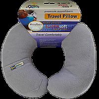 Подушка для путешествий DROM Светло-серый 12002, КОД: 1022524