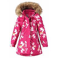 Удлиненные мембранные куртки Reimatec Muhvi, фуксия