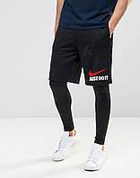 """Шорты Nike ( Найк ) мужские цветной принт """""""" В стиле Nike """""""""""