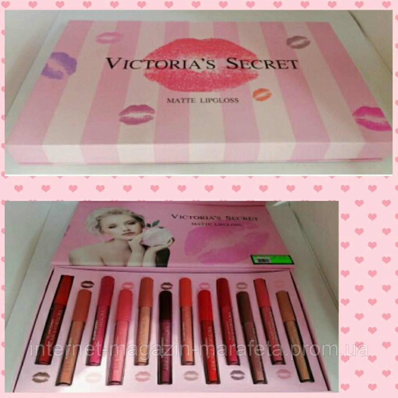 Набор матовых губных помад Victoria'S Secret