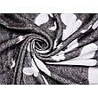 Плед Хлопковый 140X200 VLADI Бабочки Темно-Серый, фото 2